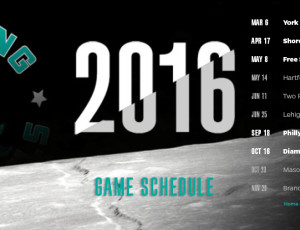 2016 Season Schedule Announced