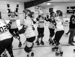 Reading Derby Girls extended full membership in the WFTDA
